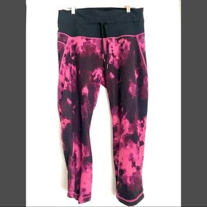 RARE!! Lululemon Tie Dye Wunder Under Leggings